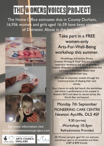 WVP workshop poster NEWTONAYCLIFFE